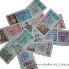 Lotería Nacional: LOTERIA NACIONAL 1977. AÑO COMPLETO. SABADOS.. Lote 134851050