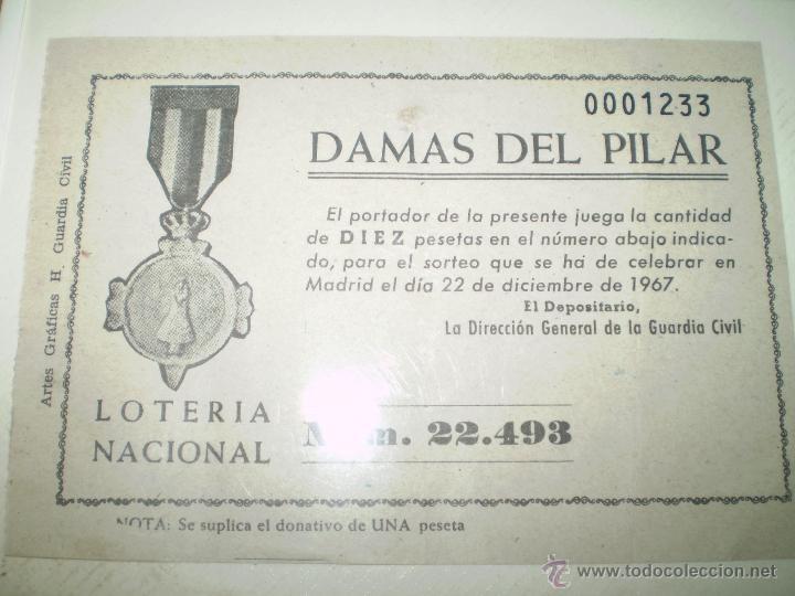 LOTERIA NACIONAL 1967 (Coleccionismo - Lotería Nacional)