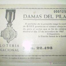 Lotería Nacional: LOTERIA NACIONAL 1967. Lote 40339648