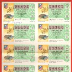 Lotería Nacional: LOTERIA ESPAÑA 82 - SORTE 25 ESTADIO VICENTE CALDERON MADRID. Lote 40446960