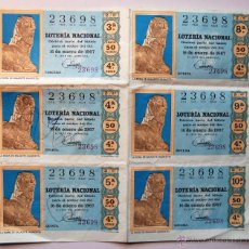 Lotería Nacional: LOTERÍA NACIONAL 1967 (SORTEO 2). Lote 42365588