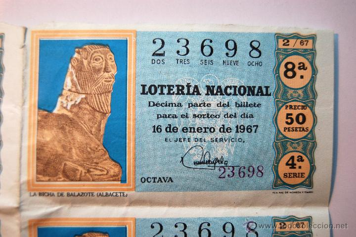 Lotería Nacional: Lotería Nacional 1967 (Sorteo 2) - Foto 2 - 42365588