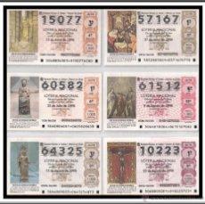 Lotería Nacional: LOTE 14 LOTERIA NACIONAL TEMA RELIGION . Lote 43774438