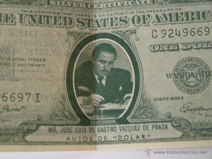 Lotería Nacional: PARTICIPACION DE LOTERIA NAVIDAD 22 DICIEMBRE 1956. Nº 57053. ONE DOLAR. 15,4 X 6,5 CM. VER FOTOS. - Foto 5 - 44227047