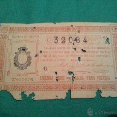 Lotería Nacional: LOTERIA NACIONAL..DECIMO DEL SORTEO 4 ..1918. Lote 46082938