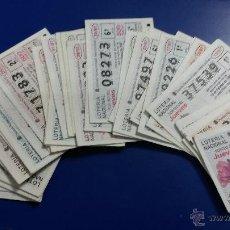 Lotería Nacional: LOTERÍA NACIONAL DEL JUEVES AÑO 1997 COMPLETO. Lote 47735054