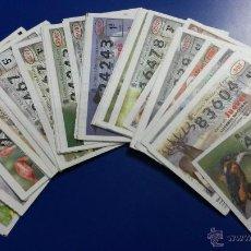 Lotería Nacional: LOTERÍA NACIONAL DEL JUEVES AÑO 2007 COMPLETO. Lote 47735175