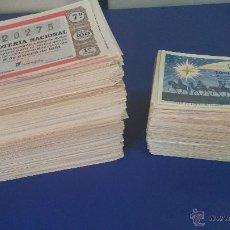 Lotería Nacional: LOTERÍA NACIONAL 1200 DECIMOS POR SERIES 1960-1966. Lote 48313697