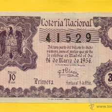 Lotería Nacional - LOTERIA NACIONAL SORTEO 9 DE 1956 - 49336529