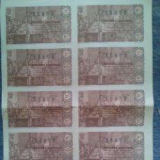 Lotería Nacional: LOTERIA NACIONAL / SERIE 6ª COMPLETA EN HOJA CONJUNTA / 10 DECIMOS / SORTEO DE NAVIDAD / 1963. Lote 45713855