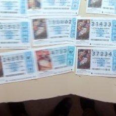 Lotería Nacional: LOTE DE 20 DECIMOS DE LA LOTERIA DE NAVIDAD, AÑOS 2004,2005,2006 Y 2008. Lote 50724469