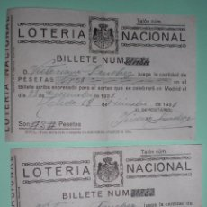 Lotería Nacional: LOTERIA NACIONAL 1931. Lote 50767404