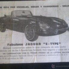Lotería Nacional: GRAN RIFA PRO ESCUELAS, HOGAR Y GUARDERIAS - SALLENT. Lote 50915159