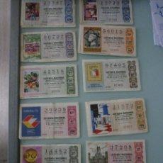 Lotería Nacional: 25 DÉCIMOS AÑO 75. LOS DE LA FOTO.. Lote 52744911