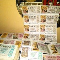 Lotería Nacional: LOTE DE MAS DE 400 BOLETOS DE LOTERIA NACIONAL. Lote 53767954