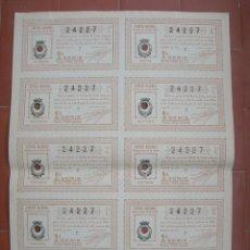 Lotería Nacional: BILLETE COMPLETO ( 10 DÉCIMOS ).LOTERIA NACIONAL.SORTEO Nº 22 DE 1936.Nº 24227. Lote 54931029