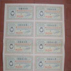 Lotería Nacional: BILLETE COMPLETO ( 10 DÉCIMOS ).LOTERIA NACIONAL.SORTEO Nº 29 DE 1936.Nº 06413. Lote 54931404