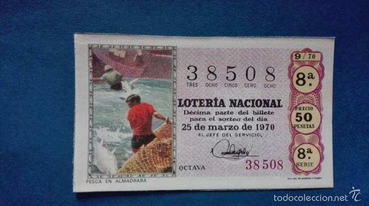 DECIMO DE 1970 SORTEO 9 (Coleccionismo - Lotería Nacional)