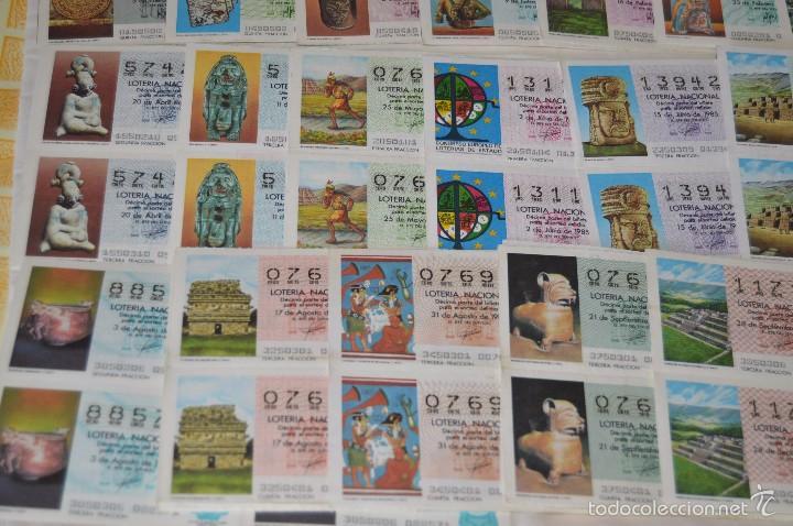 Lotería Nacional: Más de 300 DÉCIMOS, AÑO 1985 - De Enero a Diciembre - 28 Fechas diferentes - ¡Mira fotos y detalles! - Foto 3 - 57677195