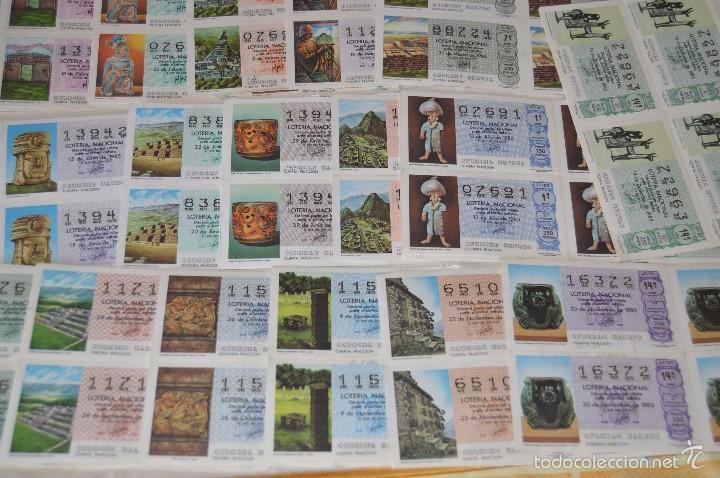 Lotería Nacional: Más de 300 DÉCIMOS, AÑO 1985 - De Enero a Diciembre - 28 Fechas diferentes - ¡Mira fotos y detalles! - Foto 5 - 57677195