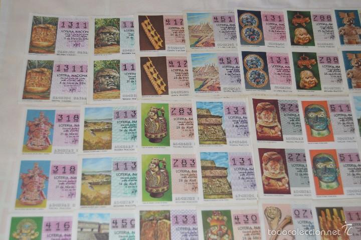 Lotería Nacional: 280 DÉCIMOS, AÑO 1984 - De Enero/Diciembre - 35 Fechas /DÉCIMOS diferentes - ¡Mira fotos y detalles! - Foto 2 - 225058220