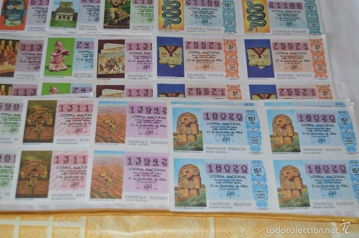 Lotería Nacional: 280 DÉCIMOS, AÑO 1984 - De Enero/Diciembre - 35 Fechas /DÉCIMOS diferentes - ¡Mira fotos y detalles! - Foto 5 - 225058220