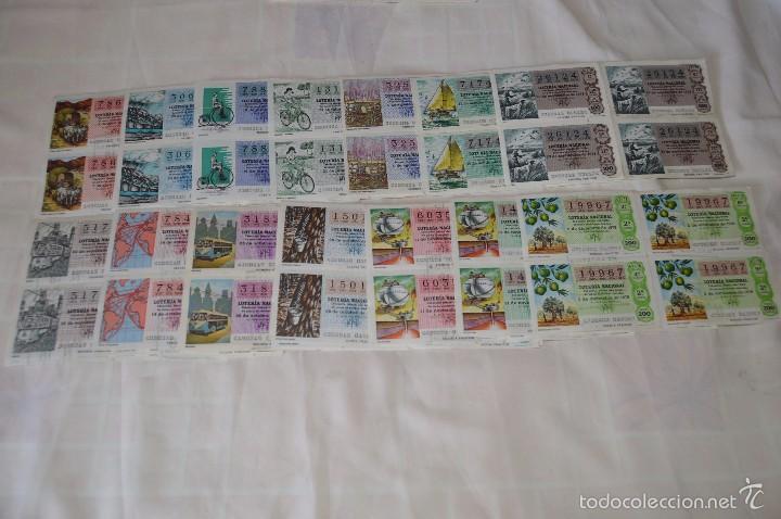 Lotería Nacional: 96 DÉCIMOS, AÑO 1978 - De Abril a Diciembre - 13 Fechas diferentes - ¡Mira fotos y detalles! - Foto 2 - 57678026