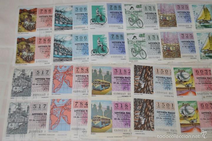 Lotería Nacional: 96 DÉCIMOS, AÑO 1978 - De Abril a Diciembre - 13 Fechas diferentes - ¡Mira fotos y detalles! - Foto 3 - 57678026