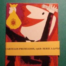 Lotería Nacional: COLECCÍON 12 POSTALES - LOTERIA NACIONAL -CARTELES PUBLICITARIOS, AÑO 1968 SEGUNDA EDICIÓN - POSTAL. Lote 58440976