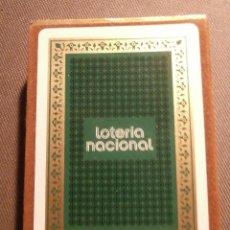 Lotería Nacional: BARAJA DE CARTAS - JUEGO - LOTERIA NACIONAL - FOURNIER - 1975 TEMA LA FILATELIA CON PRECINTO C/ CAJA. Lote 58442341