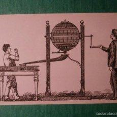 Lotería Nacional: POSTAL LOTERIA NACIONAL SERIE B. Nº 6. BOMBO MANUAL DE PREMIOS 1893. Lote 58456173