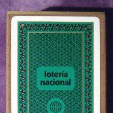 Lotería Nacional: BARAJA DE CARTAS - LOTERIA NACIONAL - FOURNIER - 1976 - TEMA SISTEMAS DE COMUNICACIÓN C/ CAJA. Lote 58834916
