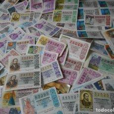 Lotería Nacional: LOTERIA NACIONAL. LOTE DE 100 DECIMOS. AÑOS 80.. Lote 61933740