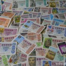Lotería Nacional: LOTERIA NACIONAL. LOTE DE 100 DECIMOS. AÑOS 80.. Lote 61934288