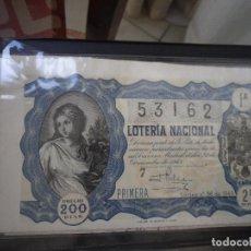 Lotería Nacional: LOTERIA SORTEO 36 1949 22 DICIEMBRE . Lote 65847842