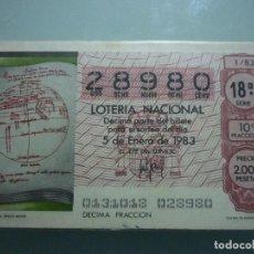 Lotería Nacional: AÑO 1983 COMPLETO . Lote 67648865