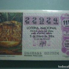 Lotería Nacional: AÑO 1984 COMPLETO . Lote 67648929