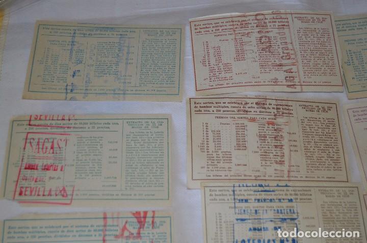 Lotería Nacional: LOTE DE 17 DECIMOS DE LOTERIA NACIONAL - AÑO 1964 - VARIADOS Y TODOS DIFERENTES - Foto 7 - 68723921