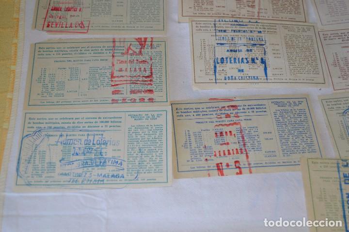 Lotería Nacional: LOTE DE 17 DECIMOS DE LOTERIA NACIONAL - AÑO 1964 - VARIADOS Y TODOS DIFERENTES - Foto 9 - 68723921