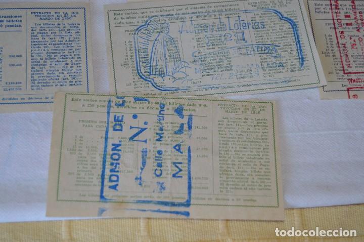 Lotería Nacional: LOTE DE 17 DECIMOS DE LOTERIA NACIONAL - AÑO 1964 - VARIADOS Y TODOS DIFERENTES - Foto 11 - 68723921
