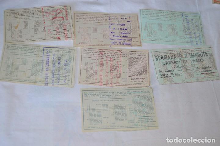Lotería Nacional: LOTE DE 29 DECIMOS DE LOTERIA NACIONAL - AÑO 1966 - VARIADOS Y TODOS DIFERENTES - Foto 6 - 68725765