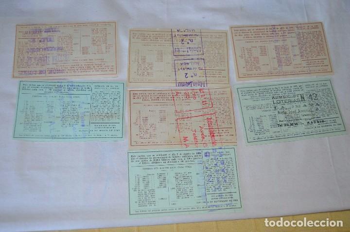 Lotería Nacional: LOTE DE 29 DECIMOS DE LOTERIA NACIONAL - AÑO 1966 - VARIADOS Y TODOS DIFERENTES - Foto 8 - 68725765