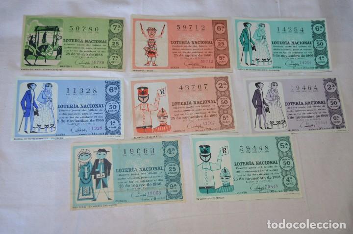 Lotería Nacional: LOTE DE 29 DECIMOS DE LOTERIA NACIONAL - AÑO 1966 - VARIADOS Y TODOS DIFERENTES - Foto 9 - 68725765
