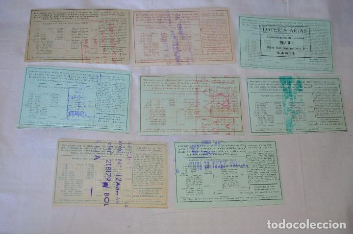 Lotería Nacional: LOTE DE 29 DECIMOS DE LOTERIA NACIONAL - AÑO 1966 - VARIADOS Y TODOS DIFERENTES - Foto 10 - 68725765