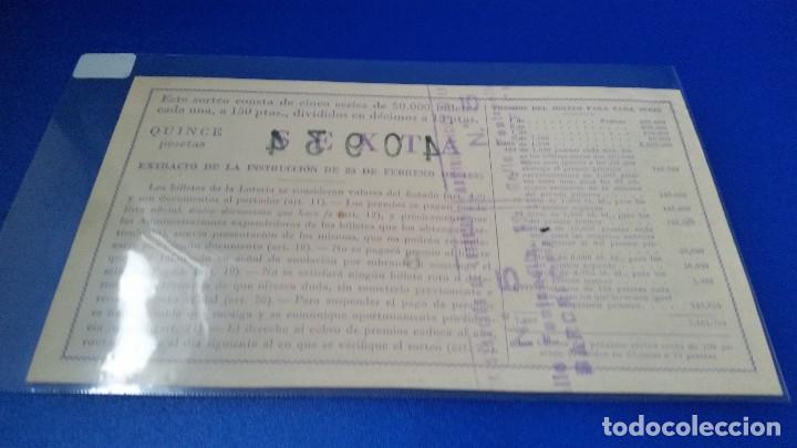 Lotería Nacional: Décimo de lotería 1953 sorteo n 20 - Foto 2 - 70297521