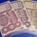 Lotería Nacional: 3 DÉCIMOS DE LOTERÍA NACIONAL DEL AÑO 1950 SORTEO Nº 32. Lote 71082517