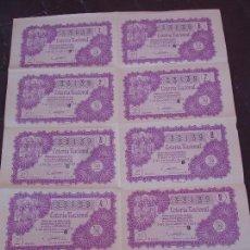 Lotería Nacional: BILLETE DE LOTERIA 5 DICIEMBRE 1959. Lote 71746947