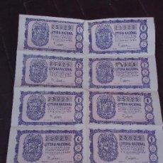 Lotería Nacional: BILLETE DE LOTERIA 5 NOVIEMBRE 1959. Lote 71749003
