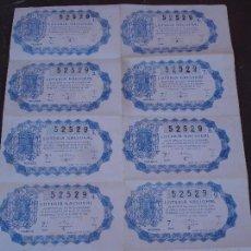 Lotería Nacional: BILLETE DE LOTERIA 25 OCTUBRE 1946. Lote 71758763