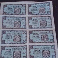 Lotería Nacional: BILLETE DE LOTERIA 26 OCTUBRE 1959. Lote 71827539